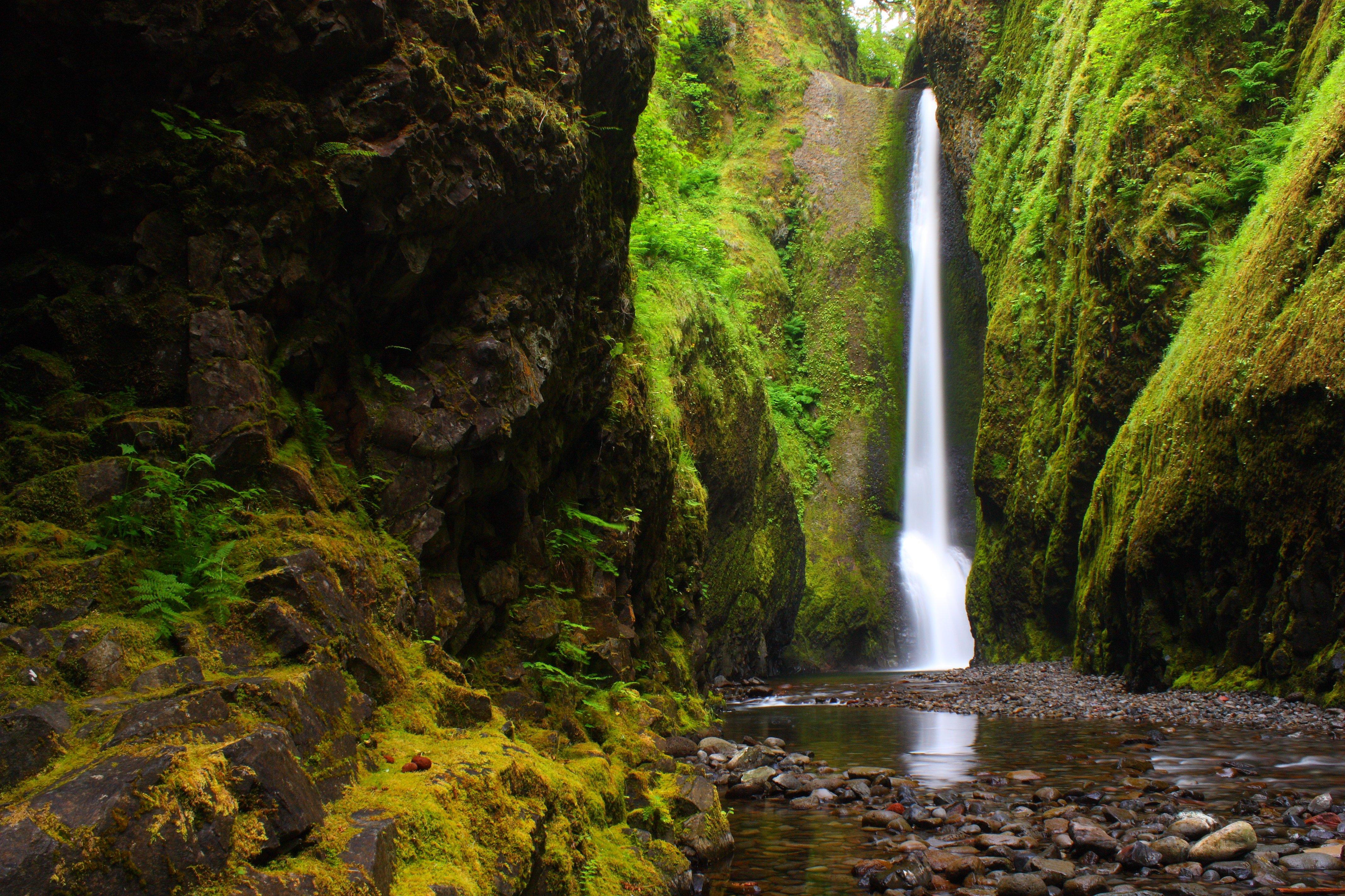 River mountains forest nature river gorge oregon wallpaper - Oregon nature wallpaper ...