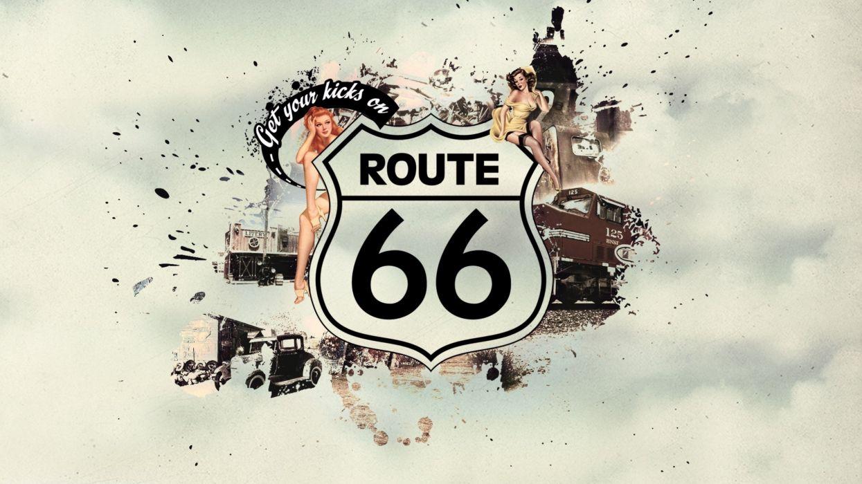 Road 66 wallpaper