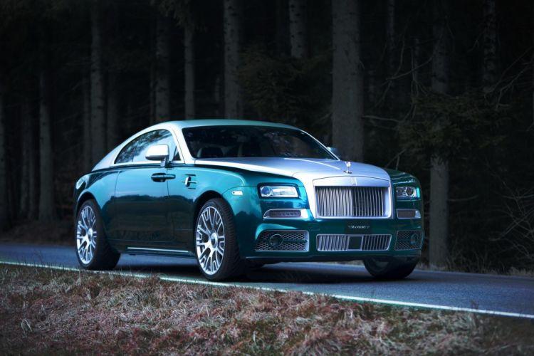 Mansory Rolls Royce Wraith wallpaper