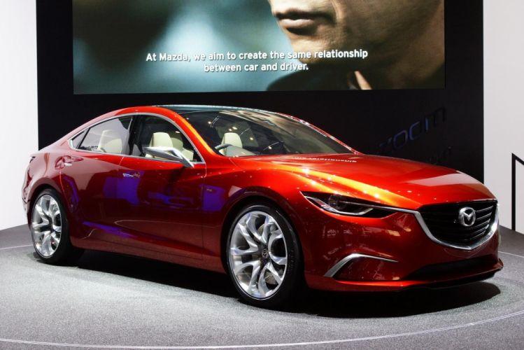 Mazda Takeri Concept 2012 wallpaper