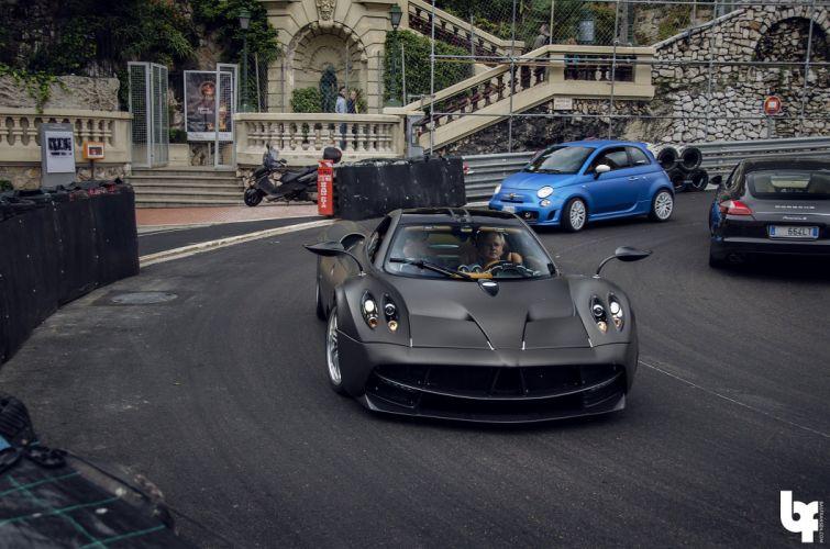 cars Huayra Italia Pagani supercars gris grey grigio wallpaper