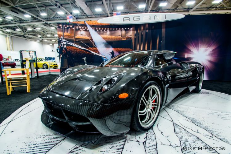 cars Huayra Italia Pagani supercars black carbon carbone wallpaper