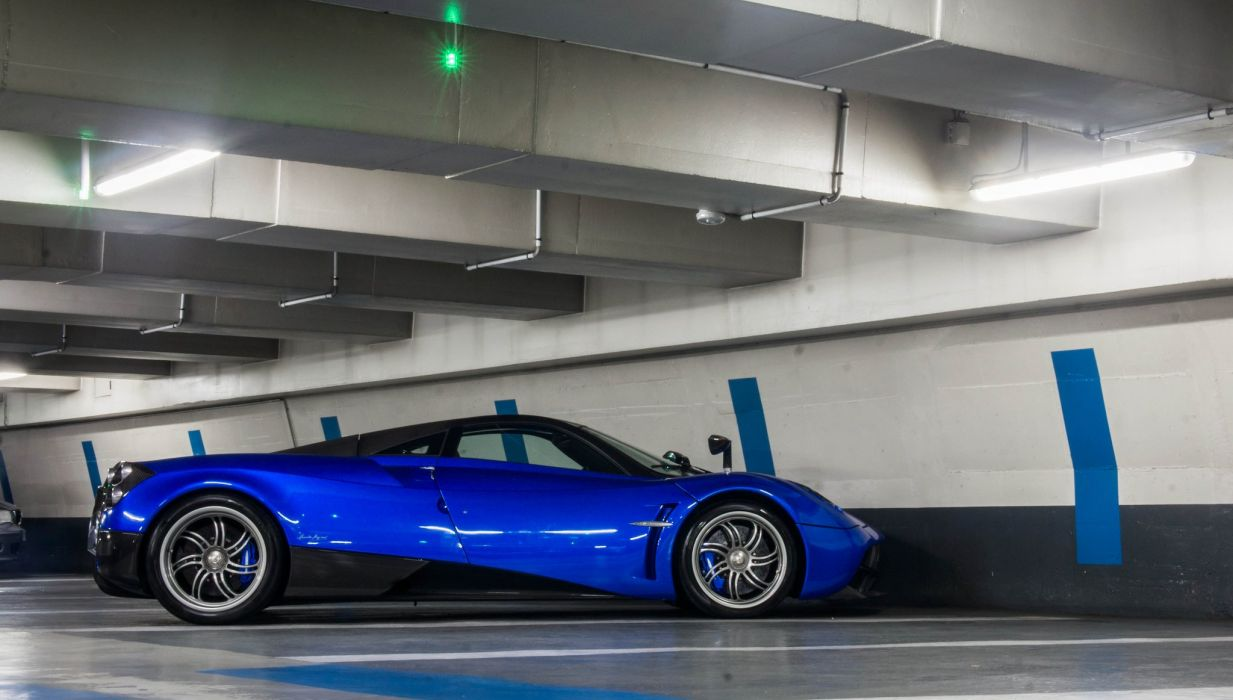 cars Huayra Italia Pagani supercars blue bleu blu wallpaper