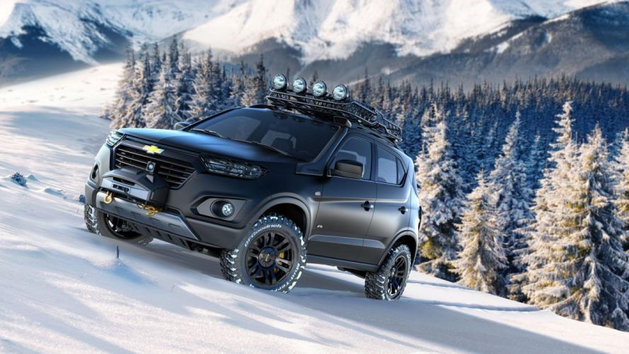 Chevrolet Niva concept 2014 wallpaper