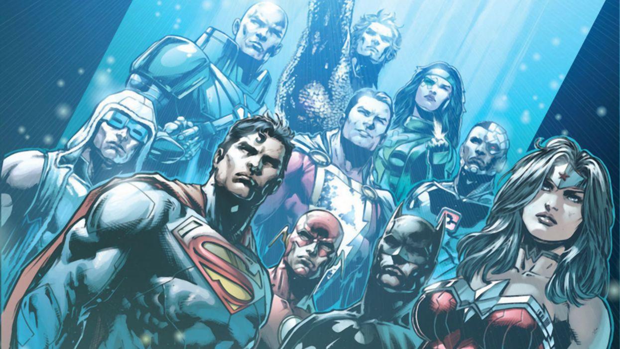 New Justice League Superman Batman Wonder Woman wallpaper