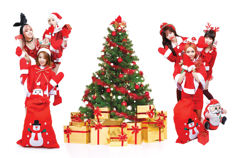 T-ARA kpop k-pop electropop r-b tara Tiara christmas ...