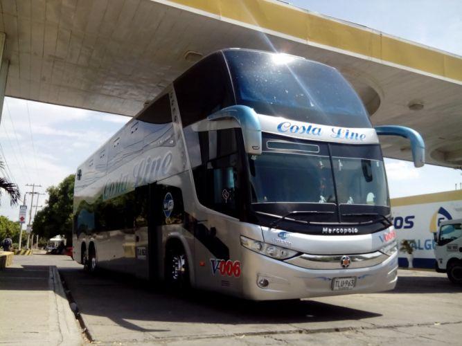 Cootracegua Costa Line V-006 Marcopolo Paradiso G7 1800DD Volvo B430R I-Shift 6X2 wallpaper