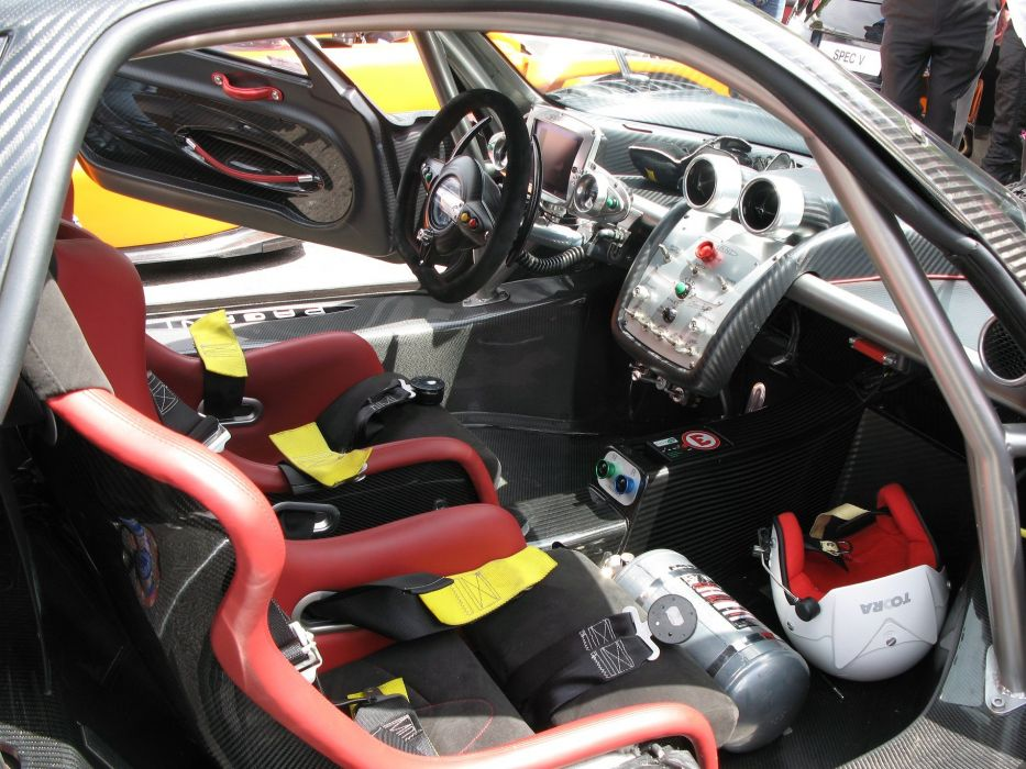 2009 Pagani Supercar supercars Zonda-R wallpaper