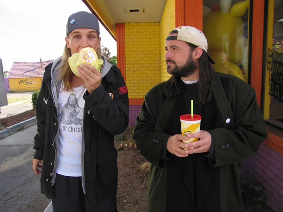 CLERKS comedy jay silent bob funny humor indie wallpaper