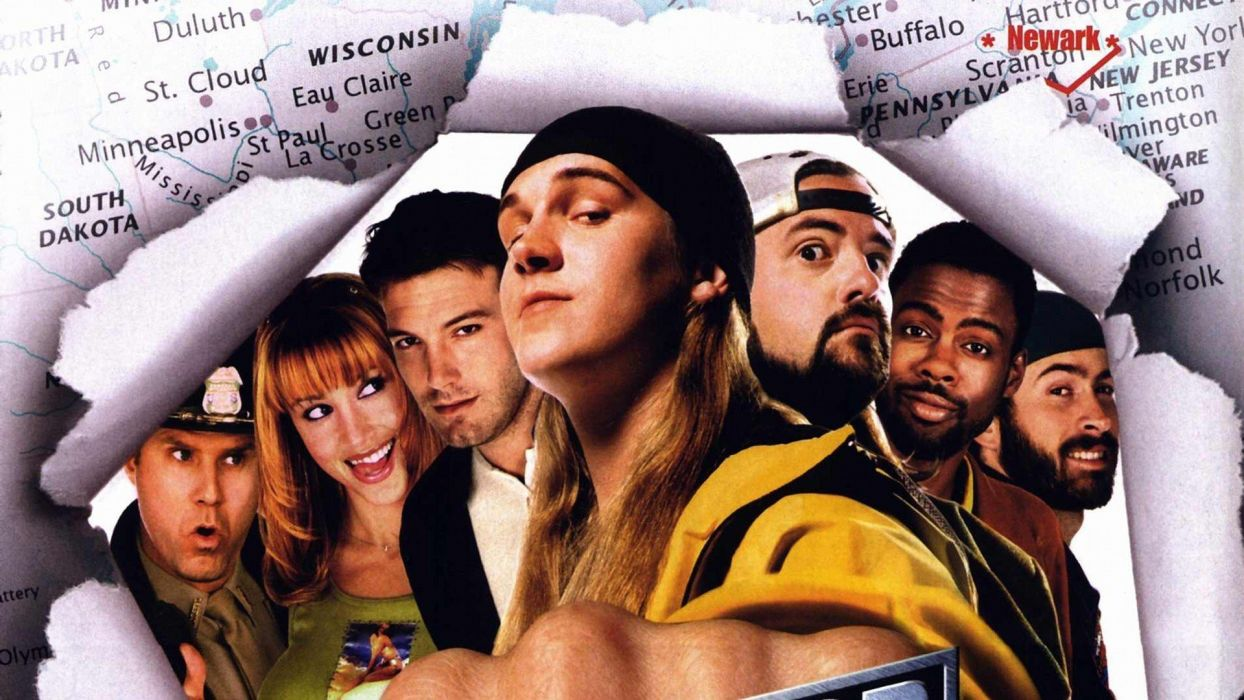 JAY SILENT BOB STRIKE BACK comedy humor funny wallpaper