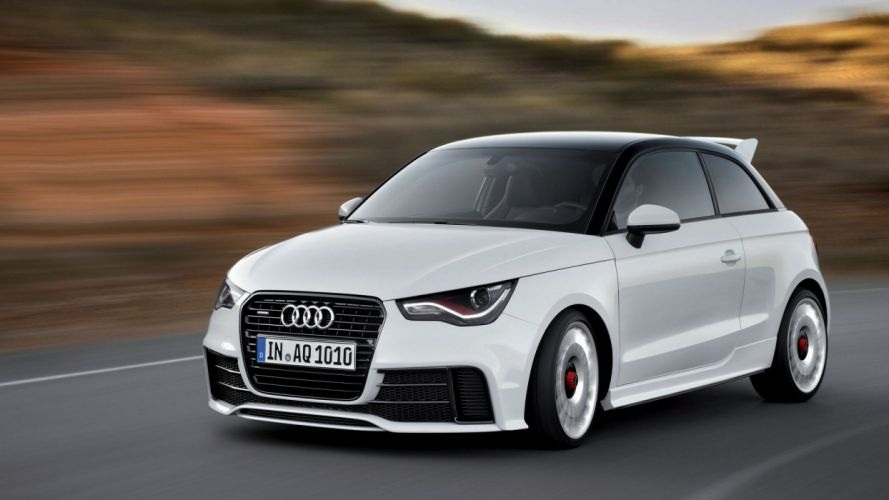 Audi A1 Clubsport Quattro 2011 wallpaper