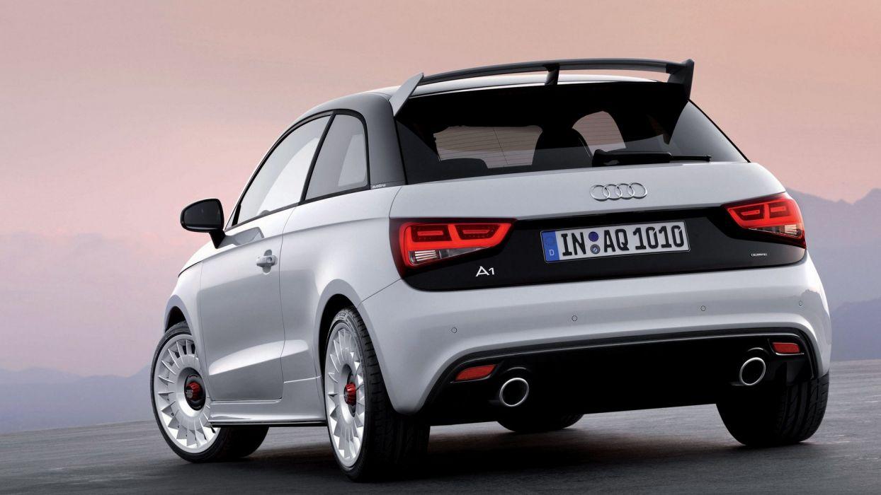 Audi A1 Clubsport Quattro 2011 wallpaper