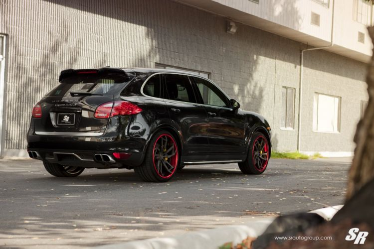SUV Cayenne Porsche PUR wheels tuning wallpaper