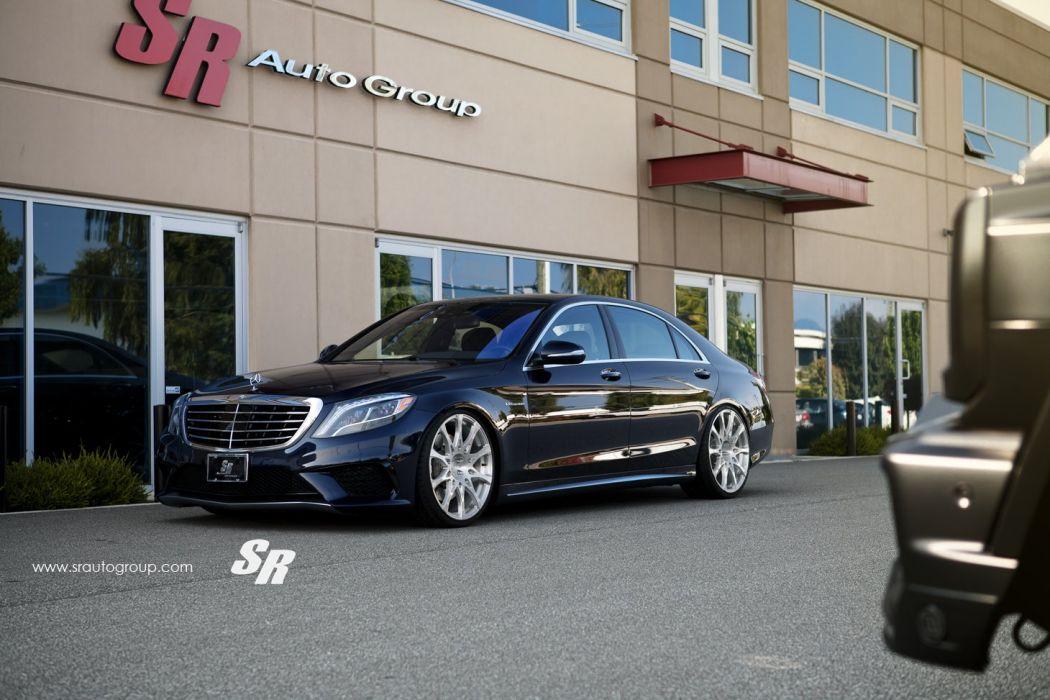 amg black cars PUR Mercedes s63 Tuning wheels wallpaper