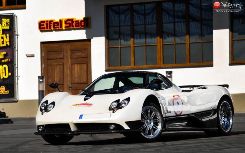 blanc white blanco cars Exotic Pagani Supercar vehicles Zonda wallpaper