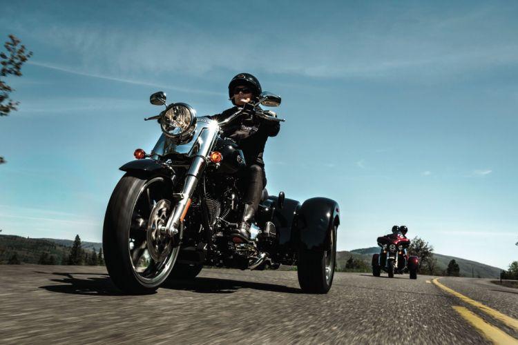 2015 Harley Davidson FLRT Freewheeler g wallpaper