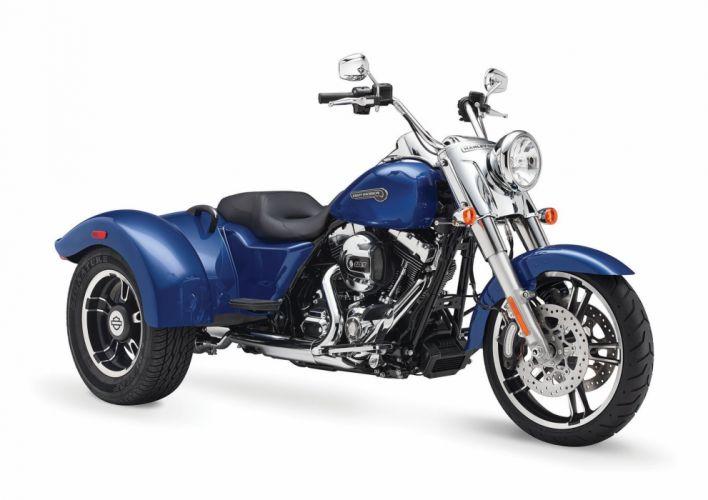 2015 Harley Davidson FLRT Freewheeler j wallpaper