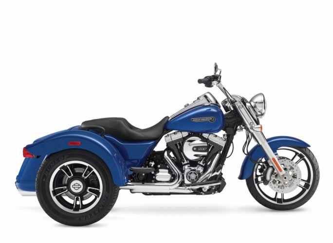 2015 Harley Davidson FLRT Freewheeler e wallpaper