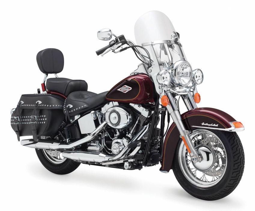 2015 Harley Davidson FLSTC Heritage Softail Classic b wallpaper