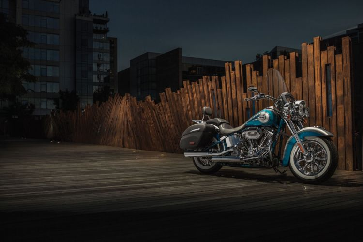 2015 Harley Davidson FLSTNSE CVO Softail Deluxe f wallpaper