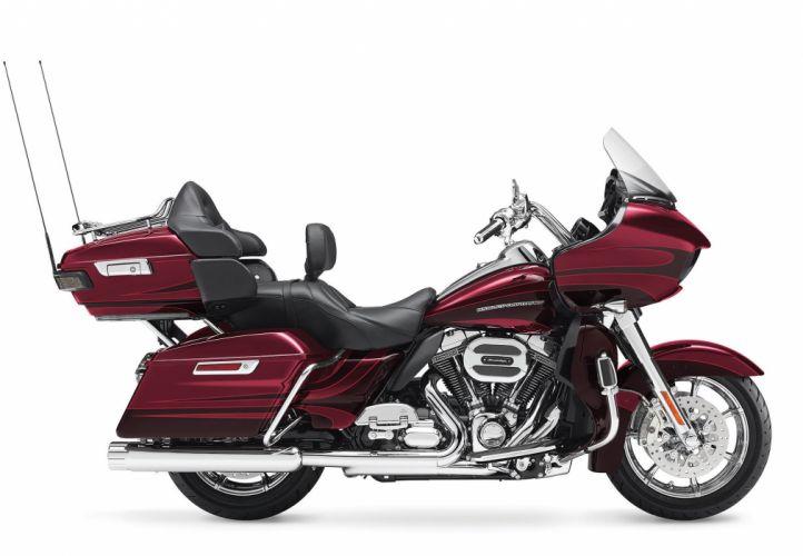 2015 Harley Davidson FLTRUSE CVO Road Glide Ultra f wallpaper