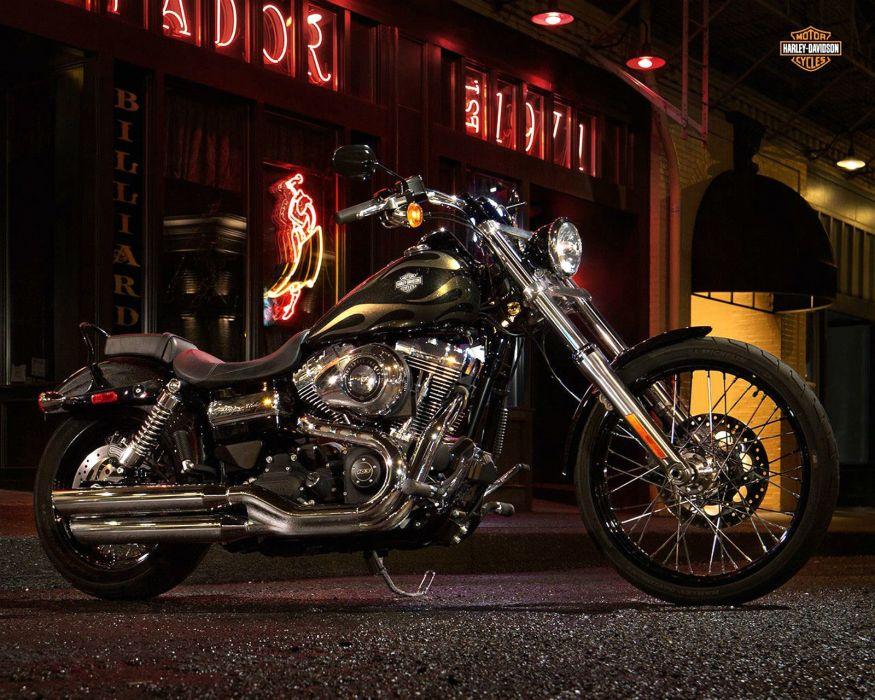 2015 Harley Davidson FXDWG Wide Glide d wallpaper