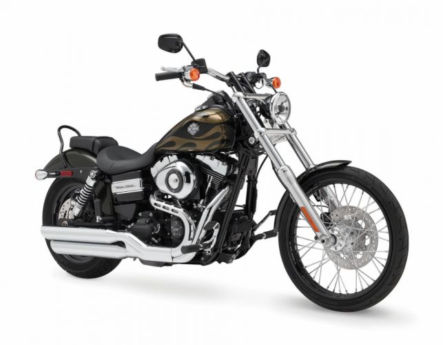 2015 Harley Davidson FXDWG Wide Glide qr wallpaper