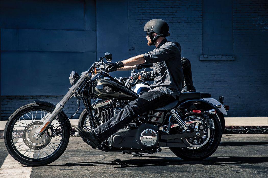 2015 Harley Davidson FXDWG Wide Glide wr wallpaper | 2015x1343 ...