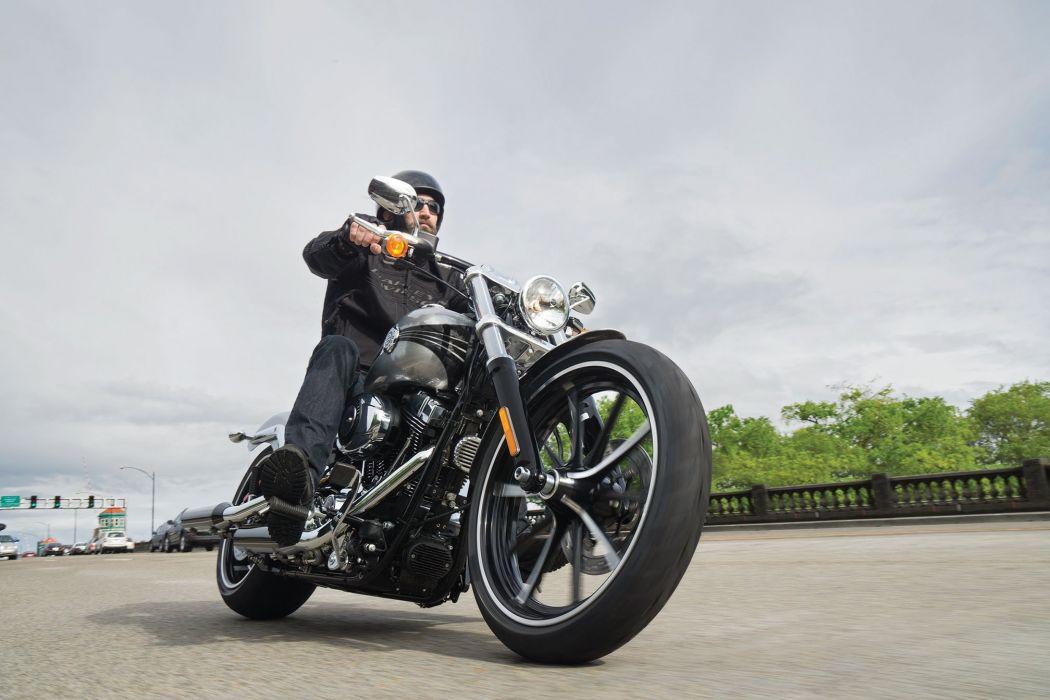 2015 Harley Davidson FXSB Breakout S Wallpaper