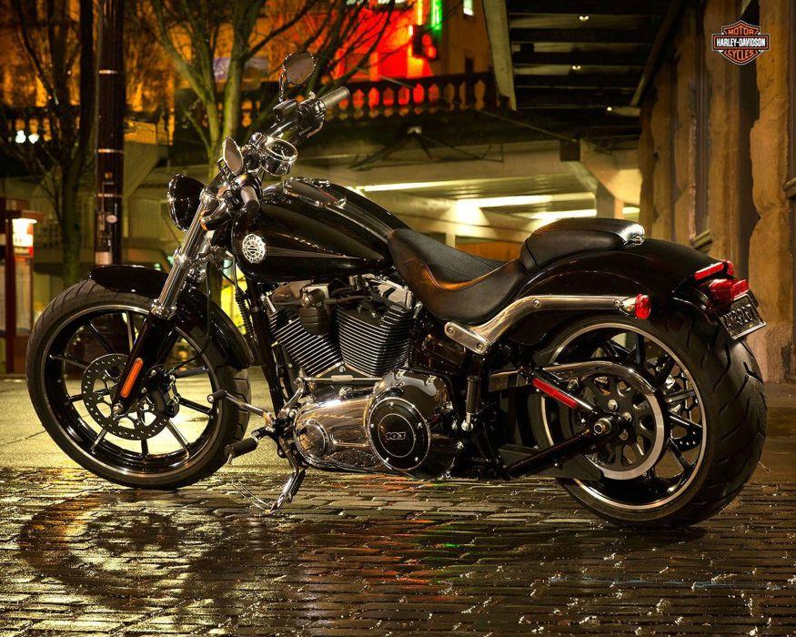 2015 Harley Davidson FXSB Breakout sa wallpaper