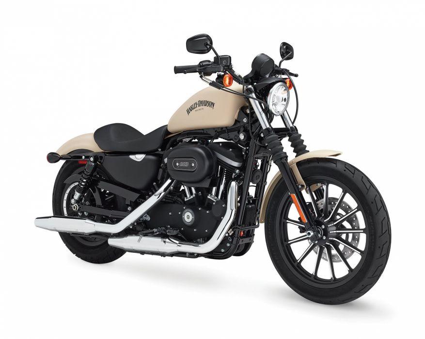 2015 Harley Davidson XL883N Iron 883 e wallpaper
