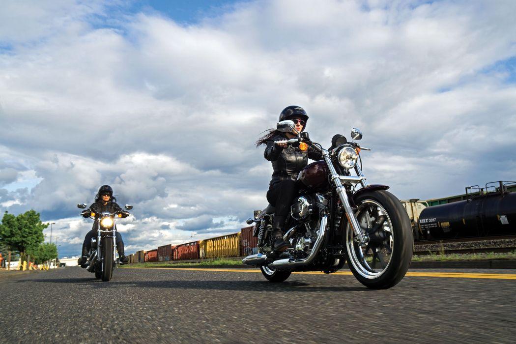 2015 Harley Davidson XL1200C 1200 Custom w wallpaper
