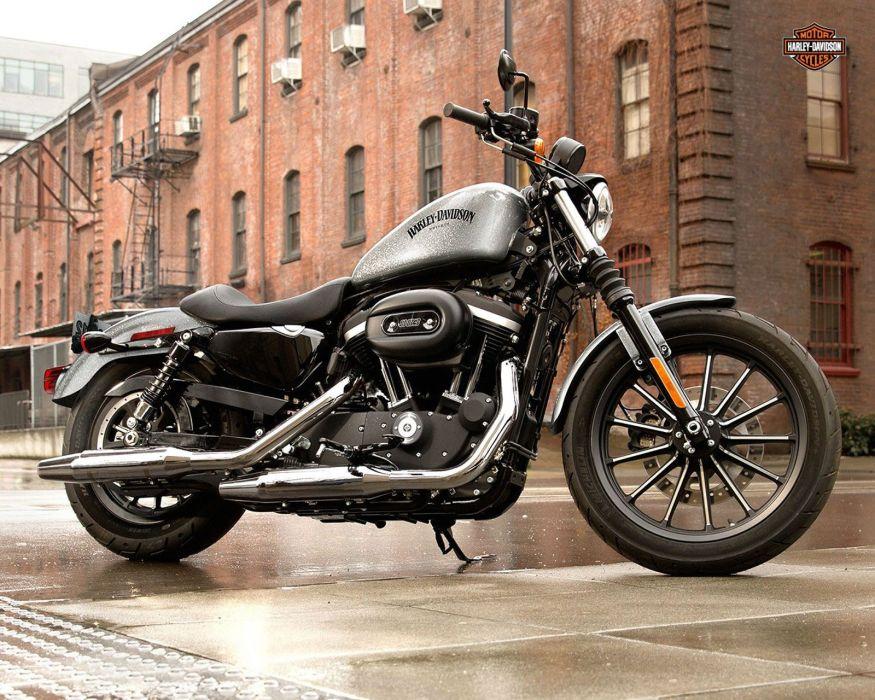 2015 Harley Davidson XL883N Iron 883 w wallpaper