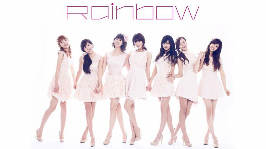 RAINBOW kpop k-pop wallpaper