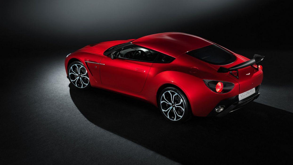 2013 Aston Martin V12 Zagato wallpaper