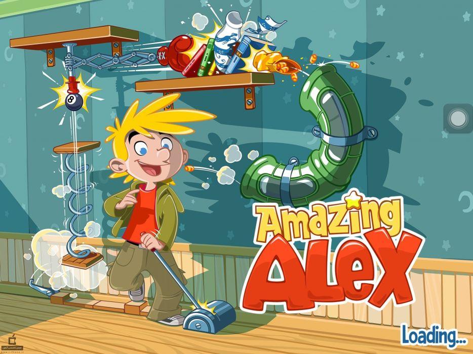 AMAZING ALEX physics puzzle family wallpaper