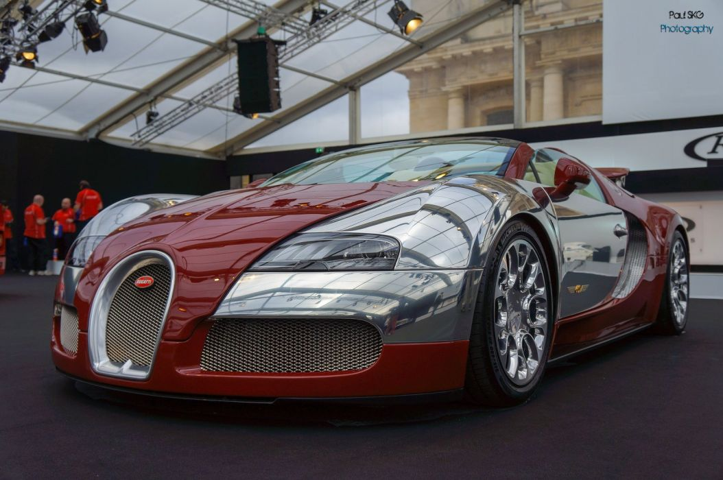 Bugatti Exotic matt supercars Veyron Vinyl wrap chrome wallpaper