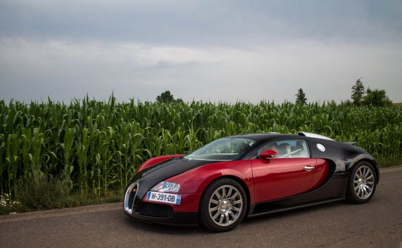 Bugatti Exotic supercars Veyron red wallpaper