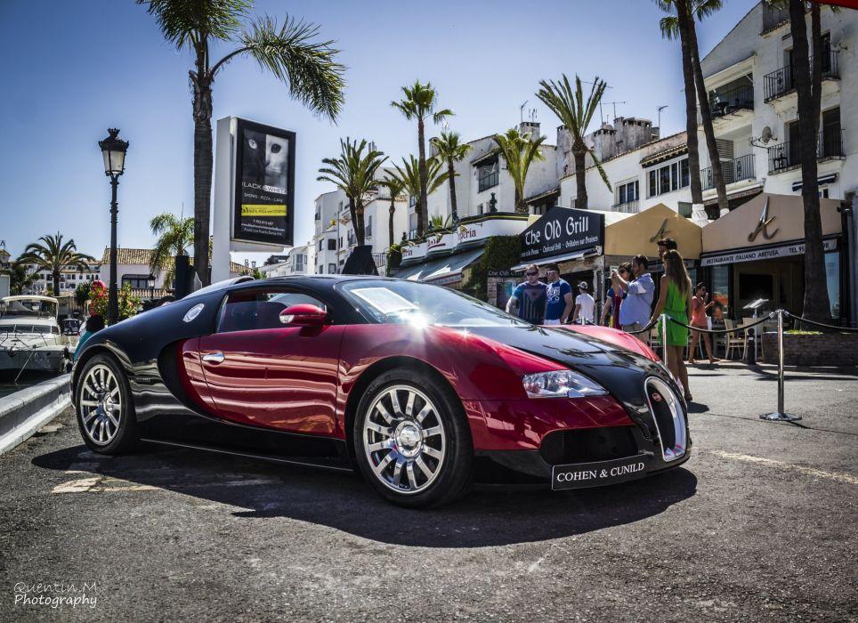 Bugatti Exotic supercars Veyron red wallpaper