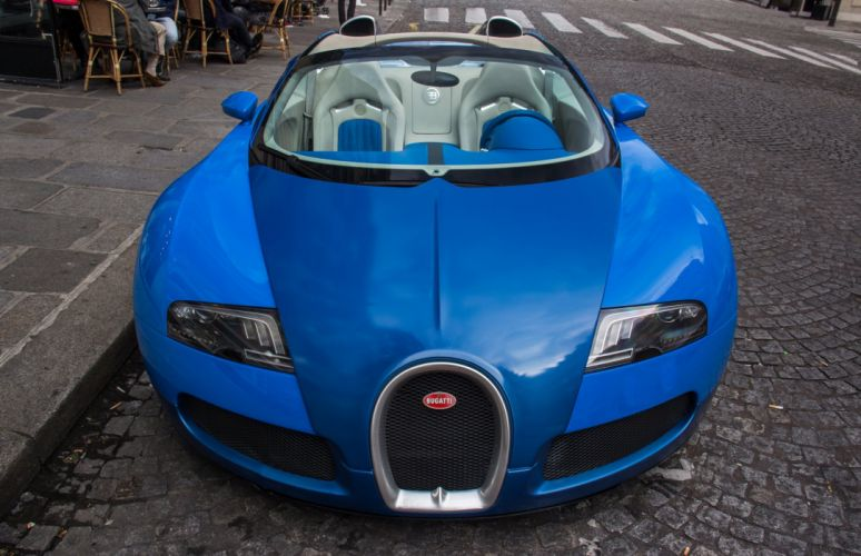 Bugatti Exotic blue bleu supercars Veyron wallpaper