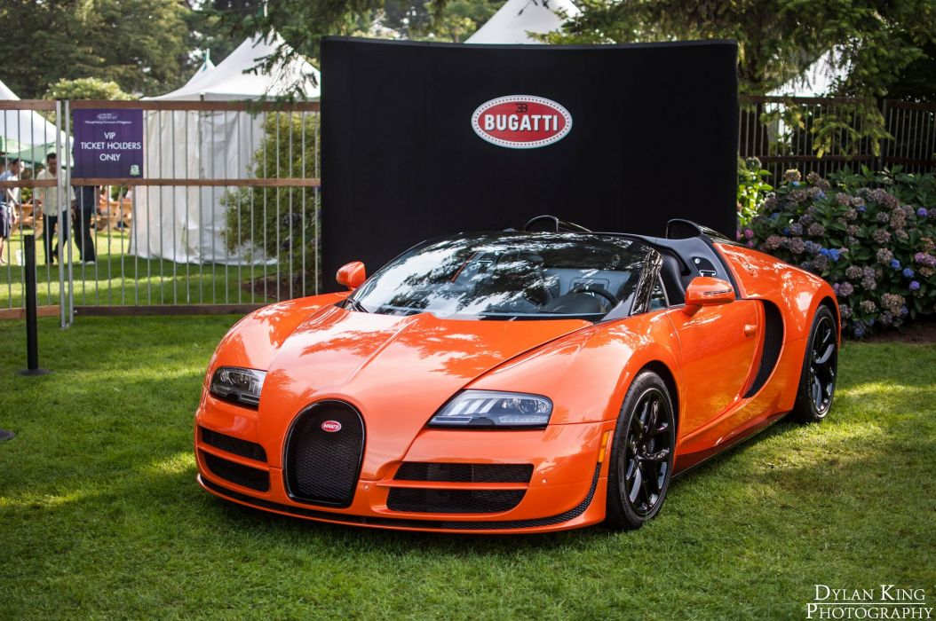 Bugatti Exotic supercars Veyron orange wallpaper