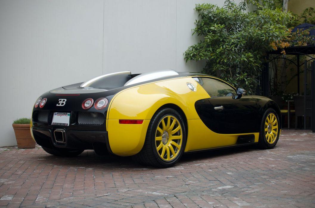 Bugatti Exotic jaune yellow supercars Veyron wallpaper