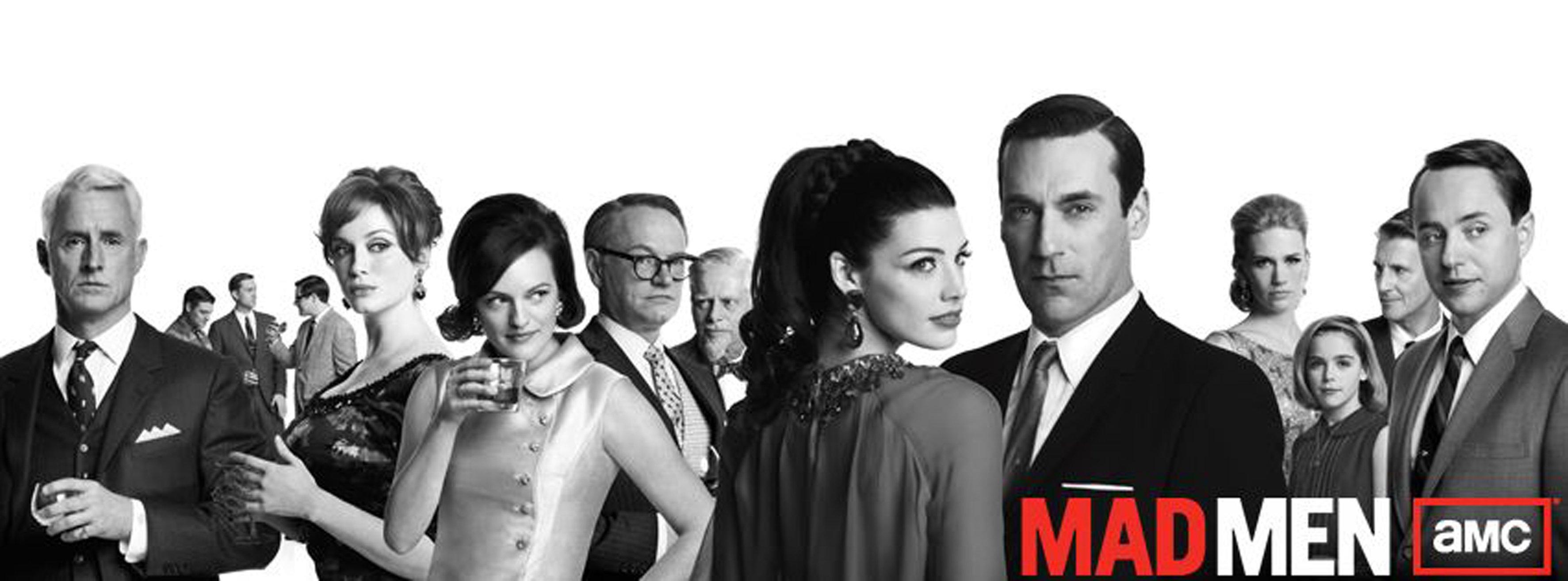 MAD MEN period drama madmen series wallpaper | 3546x1313 ...