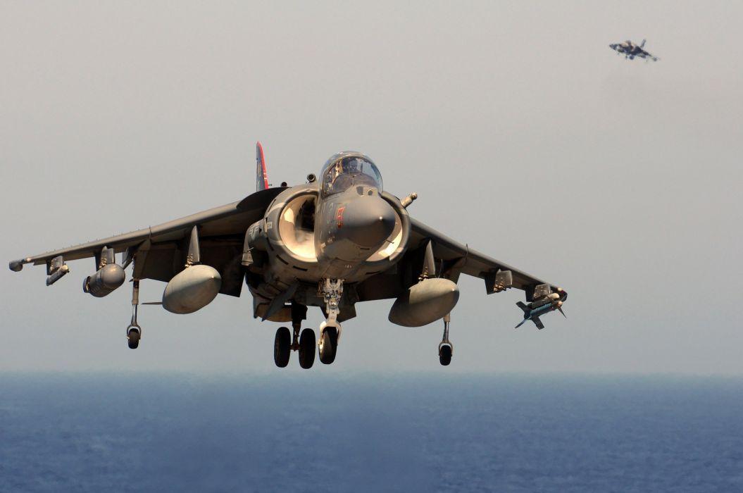 harrier jet fighter military wallpaper