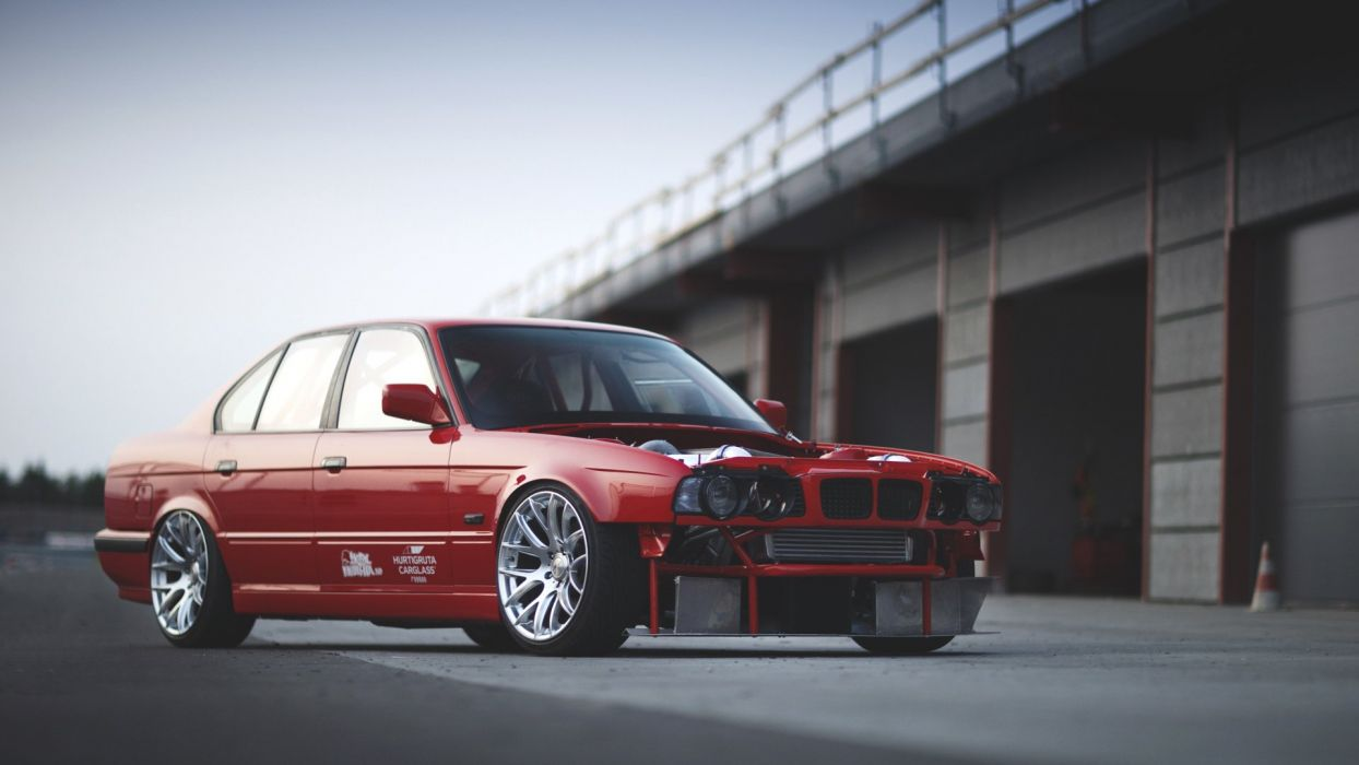 e34 bmw tuning wallpaper