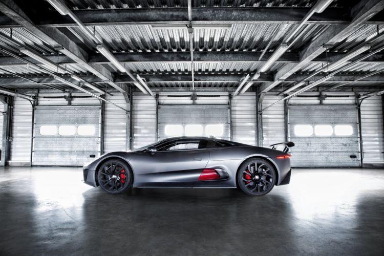 c-x75 hybrid supercar prototype jaguar wallpaper
