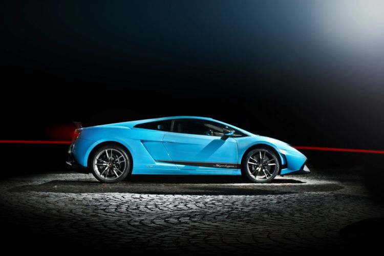 gallardo blue lp570-4 superleggera lamborghini supercar wallpaper