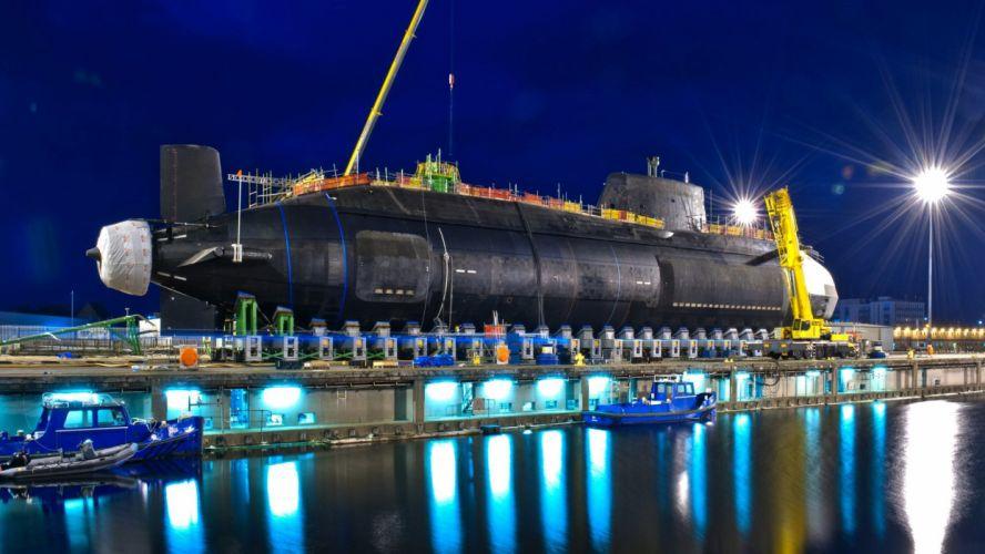 nuclear submarine hms artful (s121) boat military wallpaper