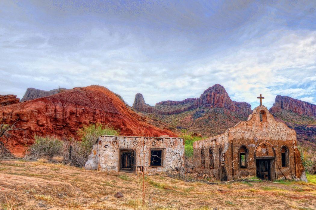 Big Bend Ranch State Park Texas desert ruins western ...