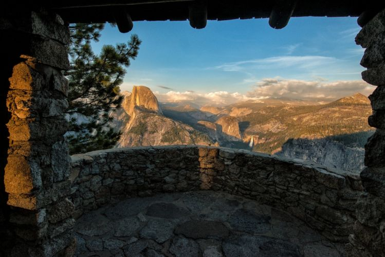 Yosemite National Park California Sierra Nevada mountains wallpaper